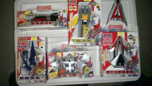 Ultraman toy vehicles boxed