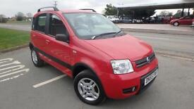 2006 Fiat Panda 1.2 4x4 red only 66708 miles shrewsbury