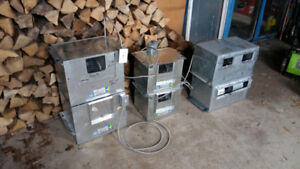 Commercial exhaust fans smoking fumes garage workshop Fresh air