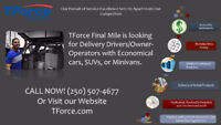 LOOKING FOR OWNER-OPERATORS/DELIVERY COURIER CONTRACTORS