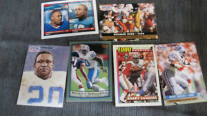 Barry Sanders NFL cards(8)