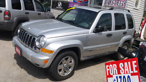 2006 jeep liberty 4x4 limited edition fully loaded London Ontario image 1