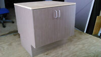Storage Cabinets with work surface