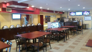 Restaurant with Super Large Kitchen and Dining Rooms