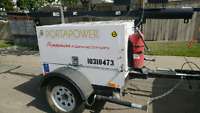 Generators and light towers for rent