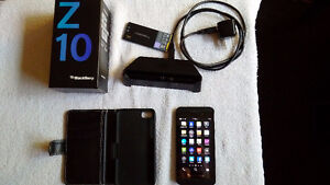 Blackberry Z10 Extra Battery and Media Stand