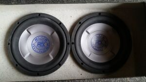 10 Inch Sub Woofers And Amplifier