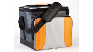 ESCORT collapsible cooler bag. 24-can size.