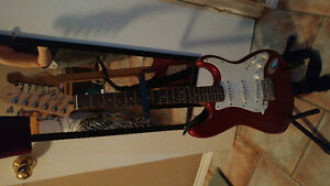 Fender Squier affinity guitar all included serious offers