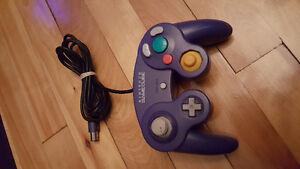 Manette Originale Nintendo Gamecube Mauve