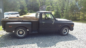 1969 C/10 stepside summer toy!!! Must see!!!