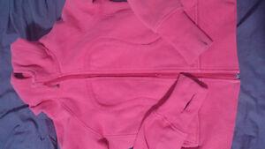 pink lulu scuba sweater size 4