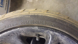 205/40ZR16 Performance Tire