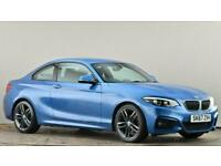 2017 BMW 2 Series 218i M Sport 2dr [Nav] Coupe petrol Manual