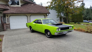1968 Dodge Coronet street/strip beautiful rust free big block