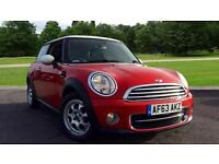 2013 Mini Cooper 1.6 Cooper D 3dr Manual Diesel Hatchback