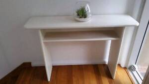 Gorgeous White Hall Table Console As NEW Menai Sutherland Area Preview