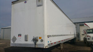2005 53 ft Dry Van Tanden Trailer Safetied UTILITY