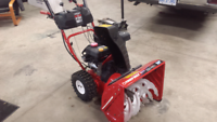 Troy built electric start snow blower like new