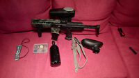 BT TM7 w/ Rip Clip Hopper + custom mods paintball