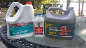 2 cycle oil suitable for outboards, jet skis, chainsaws, mowers Peterborough Peterborough Area image 1