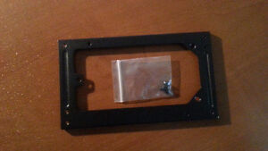 Black SFX Micro Power Supply to PS3/ATX Case Mounting Bracket/Co