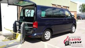 2012 VW Caravelle Diesel Automatic SWB Wheelchair Disabled Accessible Vehicle