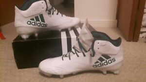adidas adizero 5-star 5.0 cleats white and green