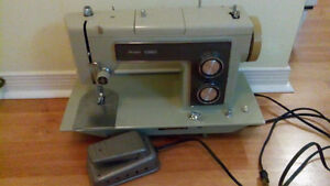 Sears Kenmore sewing machine with foot pedal