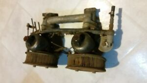 '60s Volvo 122S twin Carburetors