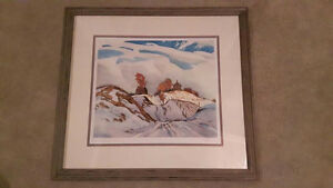 A J Casson limited edition print