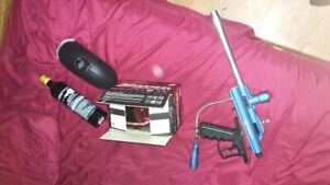 paint ball gun equipment