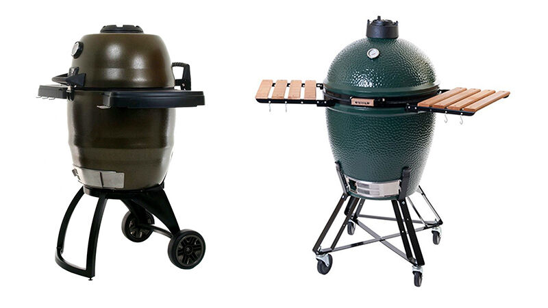 Broil King Steel Keg vs. Big Green Egg | eBay