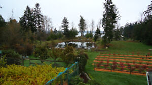 Countryside  Living at the Best on Saanich Peninsula!