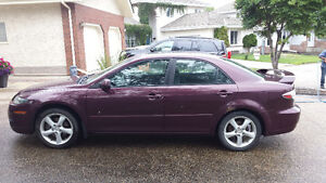 2006 Mazda6, Manual Trans. engine only has 24k!