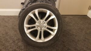 "AUDI A4 A5 A6 17"" HANKOOK WINTER I-CEPT EVO SNOW TIRE PACKAGE"