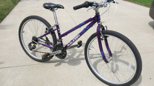 21 Speed Raleigh Bike (for girls 9-13 yrs old)