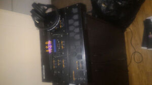Ensoniq sampler/resampler w interface an audiotechnica hphones