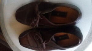 nike brown leather tiger woods gore-tex nike air comfort shoes