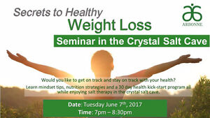 Secrets to Healthy Weight Loss Talk with Salt Therapy Brantford Ontario image 2