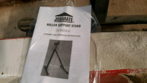 2 Roller support stands
