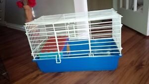 Guinea pig or Rabbit cage White Kitchener / Waterloo Kitchener Area image 1
