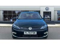 2020 Volkswagen Golf 99kW e-Golf 35kWh 5dr Auto Electric Hatchback Hatchback Ele