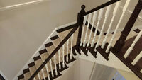 STAIRS! STAIRS! STAIRS! Professional Staircase Refinishing!