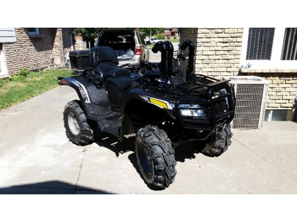 Used 2012 Arctic Cat 450i EFI TRV 4x4