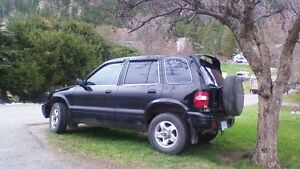 2000 Kia Sportage 5 door 4x4, air, tint