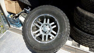 """18"""" wheels with 325/60/18 tires"""