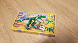 Lego 31058 Creator 3in1 Mighty Dinosaurs 3 sets two used one new