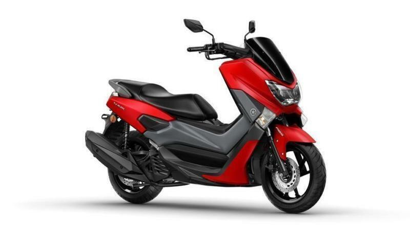 2017 YAMAHA NMAX 125 ABS ANODIZED RED, BRAND NEW!