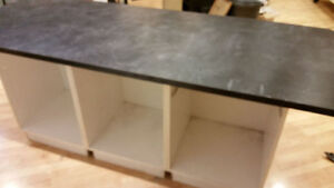 Custom Built Work Table with Storage